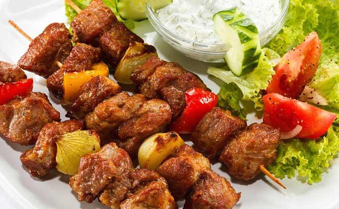 A Turkish kebab